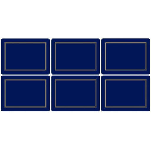 Pimpernel Classic Midnight Placemats Set of 6 - Simply Utopia