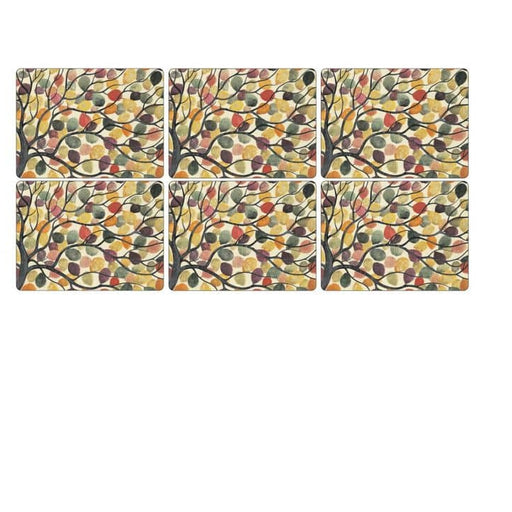 Pimpernel Dancing Branches Placemats Set of 6 - Simply Utopia