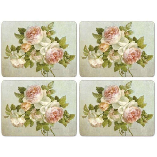 Pimpernel Antique Rose Placemats Set of 4 - Simply Utopia