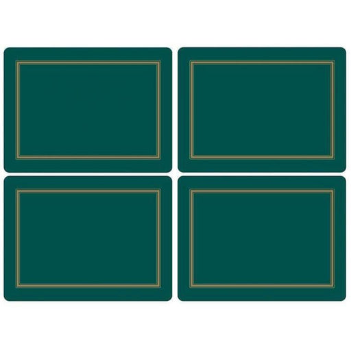 Pimpernel Classic Emerald Set of 4 Placemats - Simply Utopia