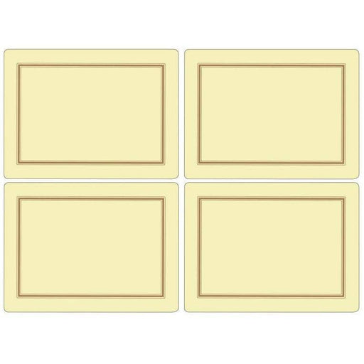 Pimpernel Classic Cream Set of 4 Placemats - Simply Utopia