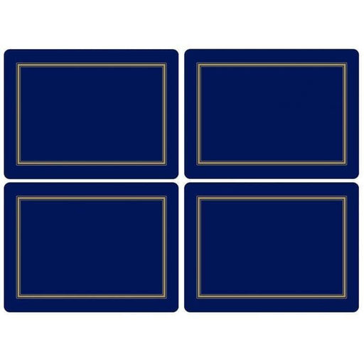 Pimpernel Classic Midnight Placemats Set of 4 - Simply Utopia