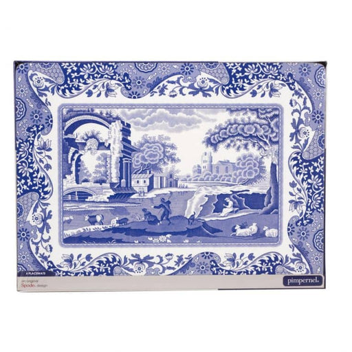 Pimpernel Blue Italian Placemats Set of 4 - Simply Utopia