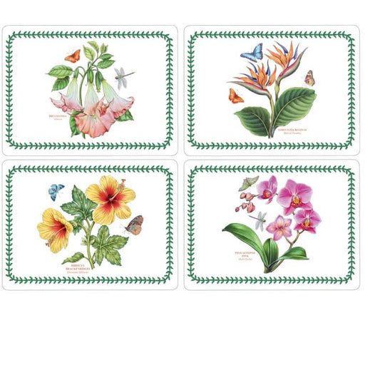 Pimpernel Exotic Botanic Garden Placemats Set Of 4 - Simply Utopia