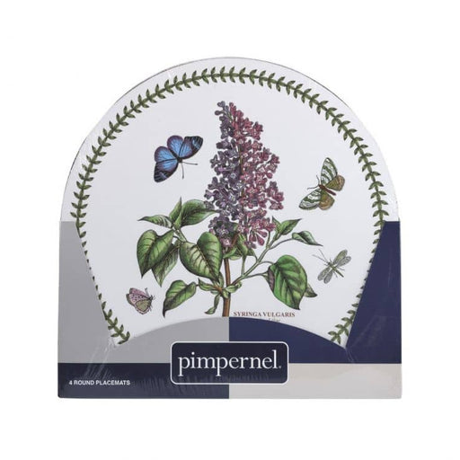 Pimpernel Botanic Garden Round Placemats Set of 4 - Simply Utopia