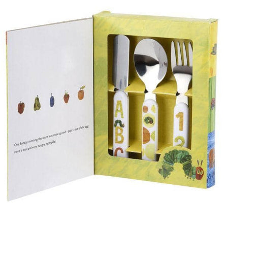 Portmeirion The Very Hungry Caterpillar 3 Piece Cutlery Set - Simply Utopia