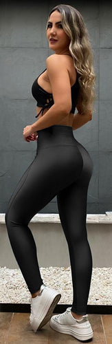 Simple n Smooth black leggings