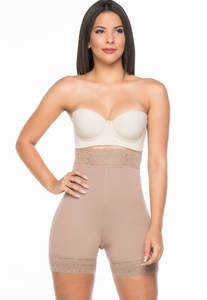High Waist push up short shapewear