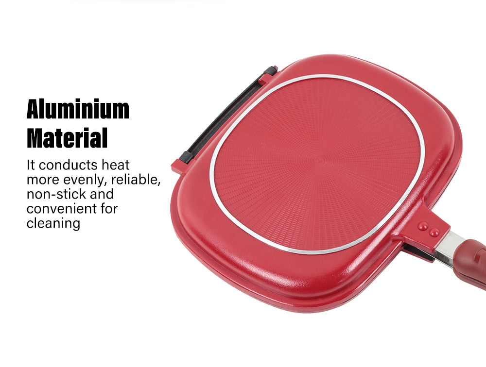 Double Sided- Multi Purpose Frying Pan