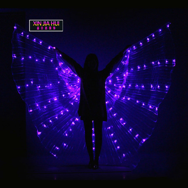 LED Butterfly Wing Cape Costume