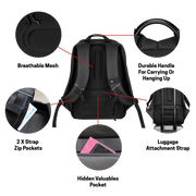 Explorer Travel Backpack Features