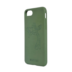 iPhone 7 / 8 / SE - Giraffe Biodegradable Case - The Earth Case