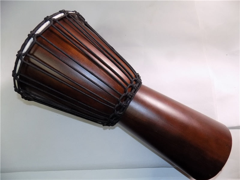 "JinDi 10"" Djembe drum African drum Mahogany body Percussion Musical instrument"