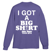 Load image into Gallery viewer, I Got A Big Shirt Long Sleeve Tee - Violet
