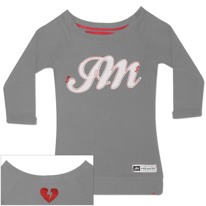 JM logo long sleeve tee-John Mayer