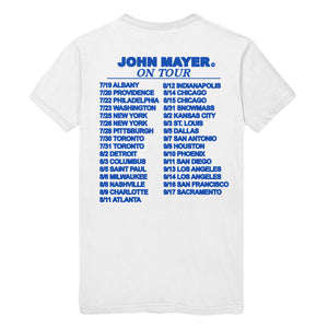"John Mayer ""Johnny Boy"" 2019 Tour Tee"