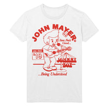 "Load image into Gallery viewer, John Mayer ""Johnny Boy"" 2019 Tour Tee"