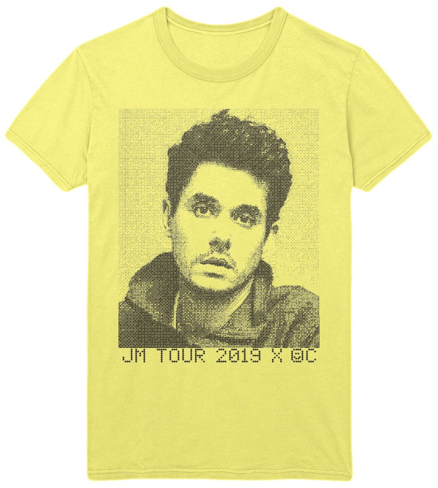 John Mayer x Online Ceramics yellow photo tee