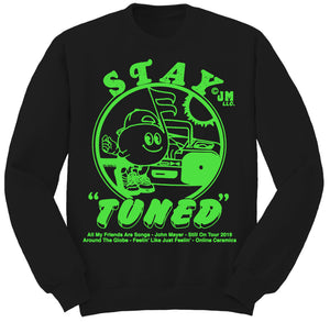 "Stay ""Tuned"" John Mayer Crewneck Sweatshirt"