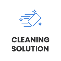 Ink space cleaning solution icon