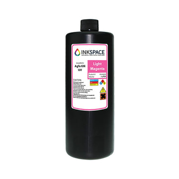 Agfa Jeti Compatible UV Lamp Ink (1000 mL) - Light Magenta