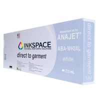 Anajet Melcojet TexMac Solo DTG Ink (220 mL) - White - dtg.ink.space