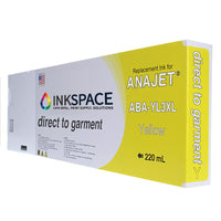 Anajet Melcojet TexMac Solo DTG Ink (220 mL) - Yellow - dtg.ink.space