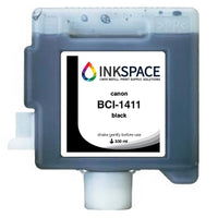 Canon imagePROGRAF BCI-1411 Compatible Dye Ink (330 mL) - Black - dtg.ink.space