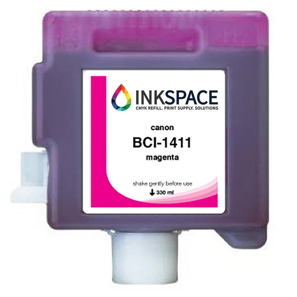 Canon imagePROGRAF BCI-1411 Compatible Dye Ink (330 mL) - Magenta - dtg.ink.space
