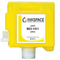 Canon imagePROGRAF BCI-1411 Compatible Dye Ink (330 mL) - Yellow - dtg.ink.space