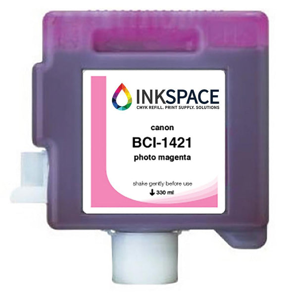 Canon imagePROGRAF BCI-1421 Compatible Pigment Ink (330 mL) - Photo Magenta - dtg.ink.space