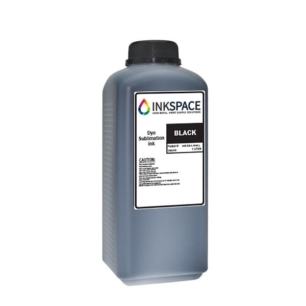 Ricoh Compatible Dye Sublimation Ink (1000 mL) - Black - dtg.ink.space