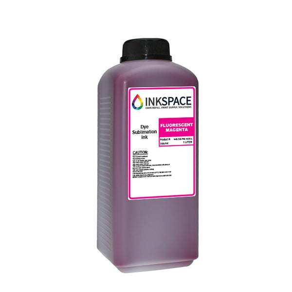 Kyocera KJ4B & Homer HM Dye Sublimation Ink (1000 mL) - Fluorescent Magenta - dtg.ink.space