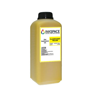 Kyocera KJ4B & Homer HM Dye Sublimation Ink (1000 mL) - Fluorescent Yellow