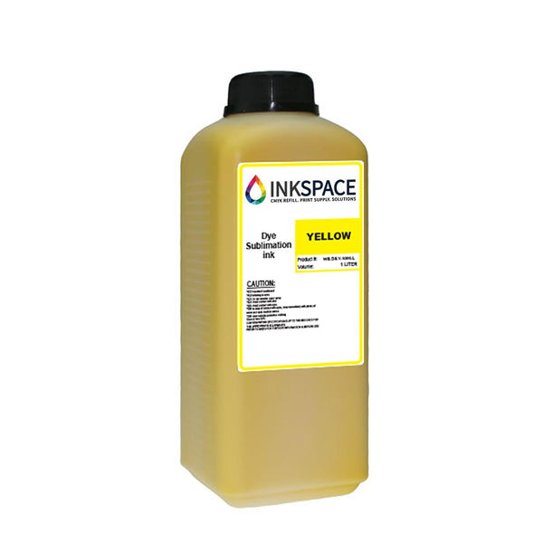 Kyocera KJ4B & Homer HM Dye Sublimation Ink (1000 mL) - Yellow - dtg.ink.space