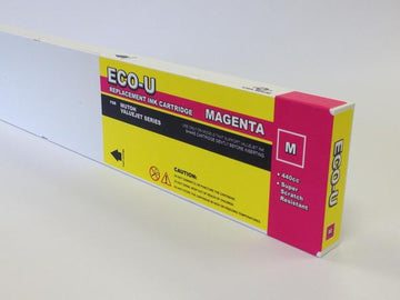 [Budget Inks] Mutoh Eco-U Compatible Eco-Solvent Ink (440 mL) - Magenta