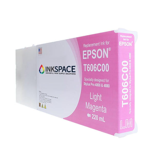 Epson Stylus Pro 4800 Pigment Ink (220 mL) - Light Magenta - dtg.ink.space