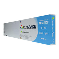 Mimaki ES3 Eco-Solvent Compatible Ink (440 mL) - Light Cyan - dtg.ink.space