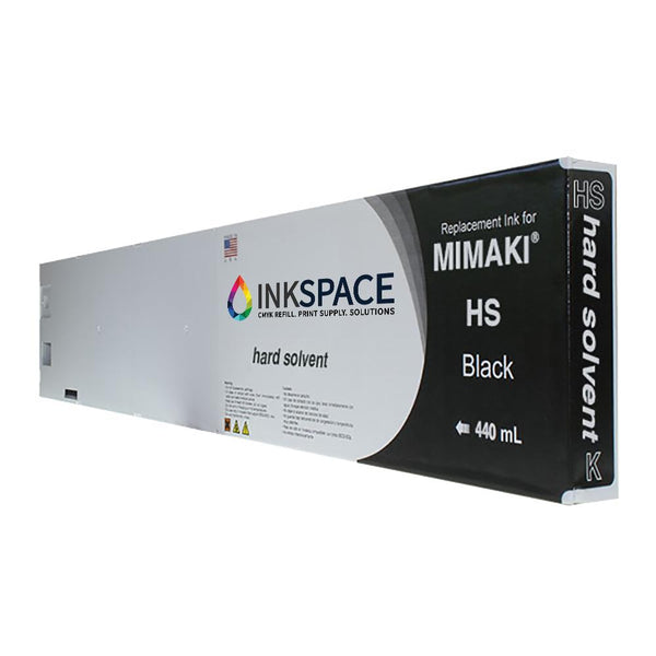 Mimaki JV5 HS Hard Solvent Compatible Ink (440 mL) - Black - dtg.ink.space