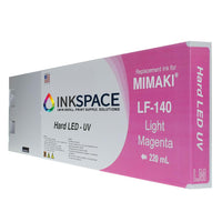 Mimaki LF-140 Hard LED UV Compatible Ink (220 mL) - Light Magenta - dtg.ink.space