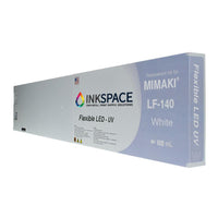 Mimaki LF-140 Hard LED UV Compatible Ink (600 mL) - White - dtg.ink.space