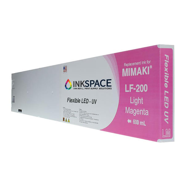Mimaki LF-200 Flexible LED UV Compatible Ink (600 mL) - Light Magenta - dtg.ink.space