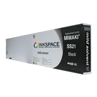 Mimaki SS21 Mild Solvent Compatible Ink (440 mL) - Black - dtg.ink.space