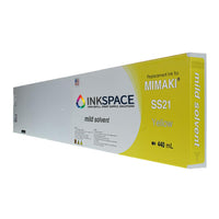 Mimaki SS21 Mild Solvent Compatible Ink (440 mL) - Yellow - dtg.ink.space