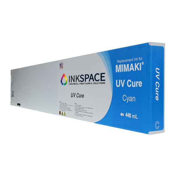 Mimaki UV Cure Compatible Ink (440 mL) - Cyan - dtg.ink.space