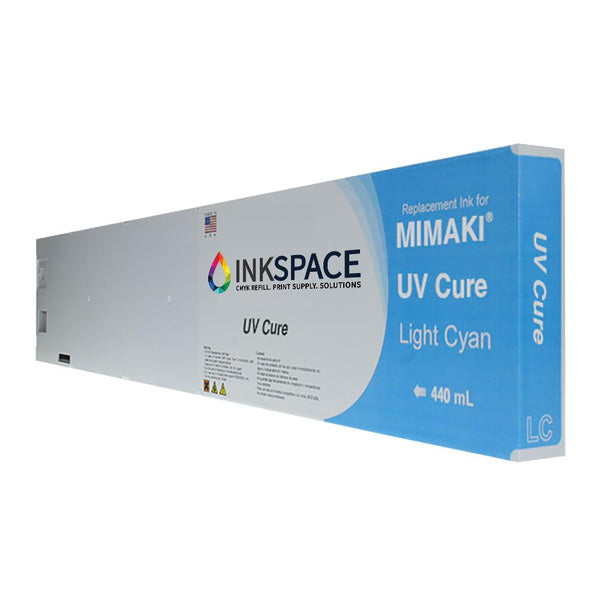 Mimaki UV Cure Compatible Ink (440 mL) - Light Cyan