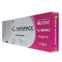 Mutoh Eco-Solvent Compatible Ink (220 mL) - Magenta