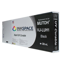 Mutoh UV Compatible Ink (220 mL) - Black - dtg.ink.space