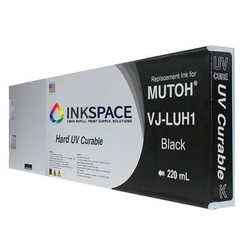 Mutoh UV Compatible Ink (220 mL) - Black