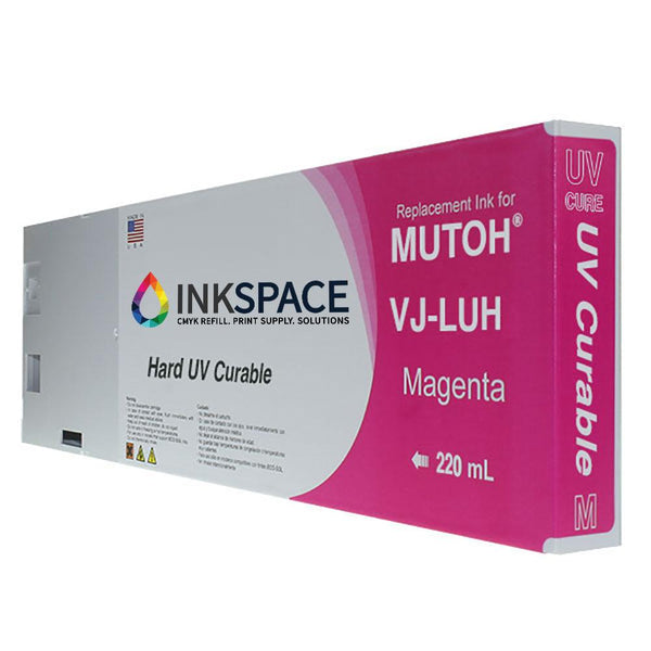 Mutoh UV Compatible Ink (220 mL) - Magenta - dtg.ink.space